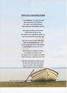 1000+ images about Grandfather poems on Pinterest ...