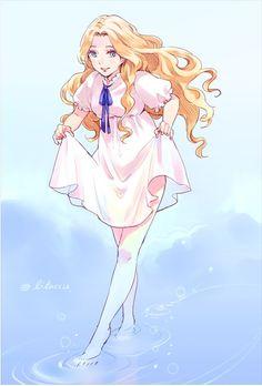 Ghibli Omoide no Marnie Artwork ~. Anime Chibi, Manga Anime, Anime Art, Hayao Miyazaki, Totoro, Erinnerungen An Marnie, When Marnie Was There, Studio Ghibli Movies, Ecchi Girl
