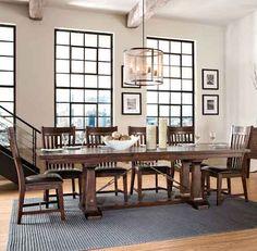 Hayden Dining Room   Puritan Furniture  CT Furniture Store  #restorationhardware #ctdining #ctshopping