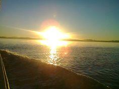 Adriana Sotelino: Salida del sol en Paraná de las Palmas el 29 de Junio de 2013