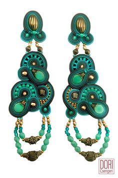 Turquoise in all its glory - cythera earrings. #doricsengeri #cythera #earrings…