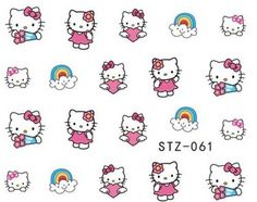 Nails - NAIL ART - WATER TRANSFER - HELLO KITTY for sale in Virginia (ID:218909928)