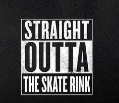 Figure Skating Funny, Figure Skating Quotes, Skating Rink, Roller Skating, Inline Speed Skates, Skate Shirts, Derby Skates, Derby Time, Face Roller