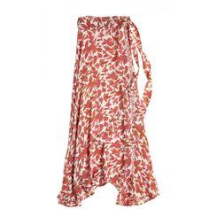 Lulu Silk Wrap Skirt | Calypso St. Barth