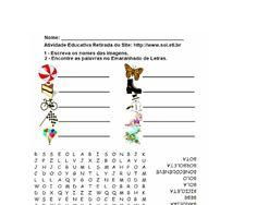 Blog de atividades fundamental 1 e 2: CAÇA PALAVRAS EM WORD COM IMAGENS RETIRADAS DO SIT...