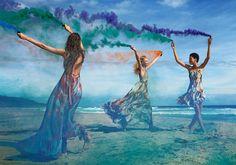 Vanessa Moody, Lineisy Montero & Frederikke Sofie for Zara | Spring 2016 Ad Campaign by Mario Sorrrenti
