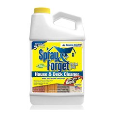House & Decks Products | Product Categories | Spray & Forget