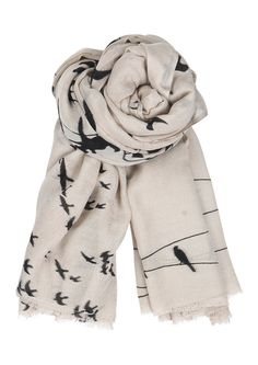Birds-on-a-Wire Scarf