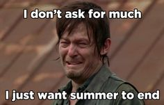 I hate 25 out of 40 summer things! How Ready Are You For Summer To Be Over?