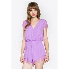 Lilac Lover Romper LAVELIQ.