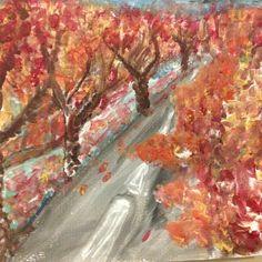 Weird fall painting...