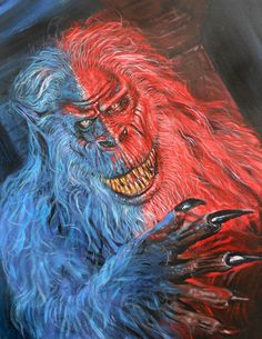 An amazing portrait of Fluffy from Stephen King's Creepshow. Credits to @ Deviant Art. Best Horror Movies, Classic Horror Movies, Horror Films, Horror Icons, Ghost Movies, Scary Movies, Cult Movies, Heavy Metal, Stephen King Movies