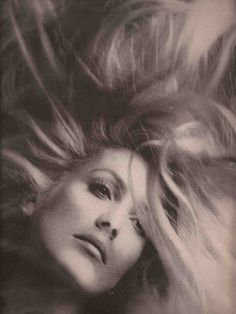 Photo by Richard Avedon,ca 1970, Catherine Deneuve, Pale Fire, Dark Flame.