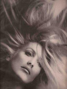 Photo by Richard Avedon,ca 1970, Catherine Deneuve, Pale Fire, Dark Flame.