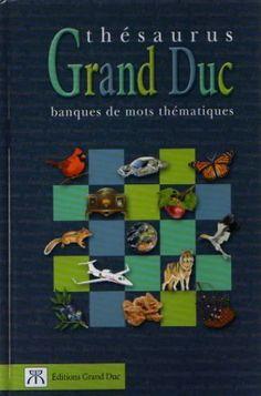 Thésaurus Grand Duc - COLLECTIF