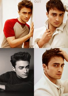 This is the first time....well excluded the time i was 12 n chamber of secrets made me fall madly in love with daniel radcliffe....that iv seen daniel look this good