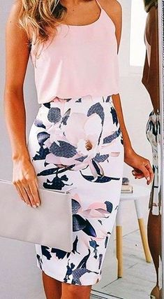 #summer #feminine #fashion #outfitideas | Blush + Floral