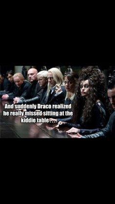 Poor Draco.