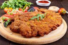 Pork Schnitzel - it is the best! Meat Recipes, Mexican Food Recipes, Paleo Recipes, Chicken Recipes, Ethnic Recipes, Honey Garlic Sauce, Honey Garlic Chicken, Tandoori Chicken, Brazilian Dishes