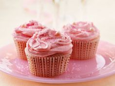 Pretty in Pink Baby Shower Cupcakes