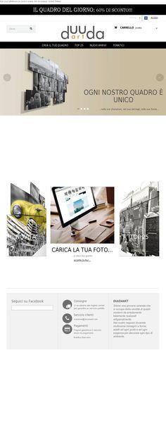 Our website www.duudaart.com (Double version: Italian/English) #website #duudaart