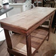 Workbench / Console / Bar $125 - Chicago http://furnishly.com/catalog/product/view/id/2038/s/workbench-console-bar/