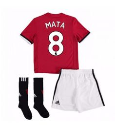 Manchester United Home Mini Kit with Young 18 printing: Manchester United Home Mini Kit with Young 18 printing with Young… Neymar, Messi, Ashley Young, Paul Pogba, Manchester United, Ronaldo, 18th, The Unit, Swimwear