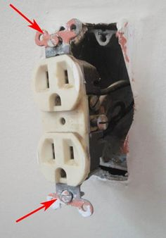 how to change out an old power outlet