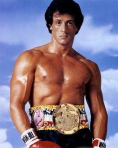 I have this poster in my workout room for a little inspiration, talk about some serious motivation!! I ♥ Rocky