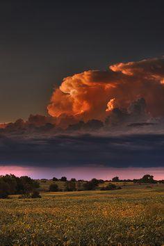 Nebraska thunderhead