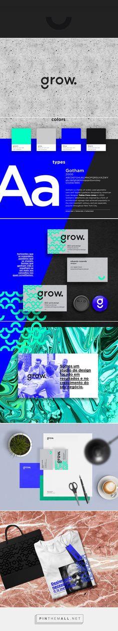 studio grow. on Behance - created via https://pinthemall.net