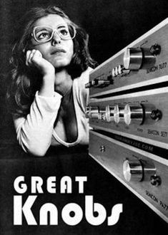 Sexist stereo ads from the 70s are a total turn-off | Dangerous Minds