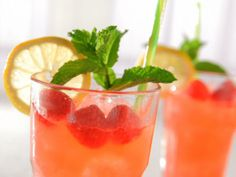 Raspberry Vanilla Hard Lemonade