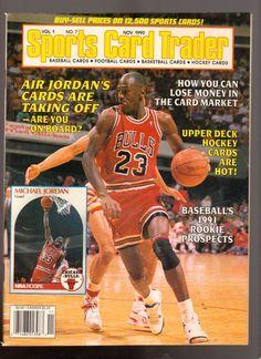 Advintage Plus - Sports Card Trader Magazine November 1990 Michael Jordan Chicago Bulls, $9.00 (http://www.advintageplus.com/sports-card-trader-magazine-november-1990-michael-jordan-chicago-bulls/)