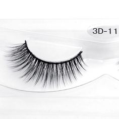 1 Pair 100% Real Siberian 3D Mink Lashes Full Strip False Eyelash Long Individual Eyelashes Mink Lashes Extension