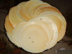 * Slané sýrové oplatky - vyzkoušené, bohatě stačí z poloviny dávky, dělají se celý večer