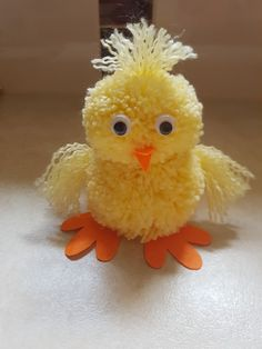 Kids Discover Pom Pom Chick - - Pom Pom Crafts Yarn Crafts Diy Crafts Hobbies And Crafts Crafts To Make Crafts For Kids Easter Egg Crafts Easter Projects Pom Pom Animals Crafts To Do, Hobbies And Crafts, Yarn Crafts, Crafts For Kids, Bunny Crafts, Easter Crafts, Egg Crafts, Spring Crafts, Holiday Crafts