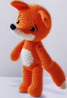 "For my ""Fox Fetish""......Lisa the Fox - Amigurumi Pattern.   5.00. Think I would name her ""Moxy"" the Fox instead."