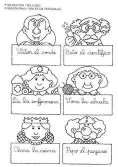 Mi primer etapa escolar : Fichas de apoyo para fortalecer la lectura y escritura Elementary Spanish, Spanish Lessons, Literacy, Language, Diagram, Letters, Comics, Learning, Album