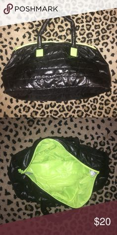 Black puffy duffel bag Black puffy duffel bag. Brand new but no tags Bags Travel Bags