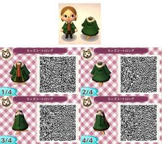 Gryffindor Robe - Mantel - Wizard - Zauberer -Broesel Spiel - A letter from Hogwarts - Harry Potter - Animal Crossing New Leaf - ACNL - QR - Broesel Animal Crossing 3ds, Animal Crossing Qr Codes Clothes, Visual Kei, Ravenclaw, Leaf Man, Motif Acnl, Ac New Leaf, Code Black, Animal Games
