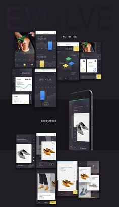 UI8 is proud to introduce to you the next inevitable step in evolution. EVOLVE is a fresh and modern high quality mobile iOS UI Kit meant to bring your next application to a stunning place no other apps have been before. EVOLVE covers 5 essential categories; Activities is perfect for your statistics & tools, Ecommerce allows you sell your premium goods, Feed which includes the main pages for your social app, Profile so that your potential users may add personal information, and of course…