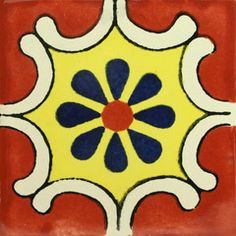 Traditional Talavera Tile hand-made and hand-painted starting at $1.75 a 4x4 tile. Use our tile calculator to determine how much you need.