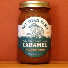 Cold Brew Coffee Goat's Milk Caramel | A Taste of Olive