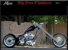 Big Bear Choppers | Customer Builds | Merc Softails Harley Bobber, Harley Davidson Chopper, Harley Davidson Motorcycles, Custom Choppers, Custom Harleys, Custom Bikes, Big Bear Choppers, Old School Chopper, Motor Scooters
