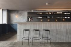 Locura Bar and Restaurant Byron Bay Design by Pattern Studio Photography by Ben Hosking Bar Design Awards, Interior Design Awards, Showroom Design, Interior Ideas, Cafe Bar, Cafe Restaurant, Restaurant Ideas, Small Restaurant Design, Pizzeria Design