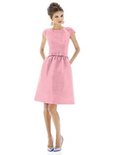 Alfred Sung Style D570 http://www.dessy.com/dresses/bridesmaid/D570/?color=strawberry&colorid=633#.Uj3E_6NlAb0