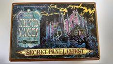 Rare Vintage Walt Disney World Haunted Mansion Secret Panel Chest Puzzle Box!