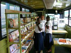 Bookmobile, Côte d'Ivoire.
