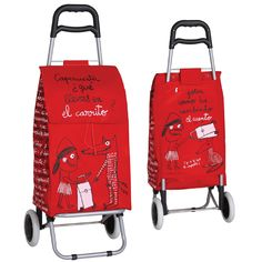 Humorous Red Riding Hood trolley